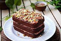 黑巧克力栗子蛋糕#东菱魔法云面包机#的做法
