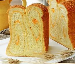 金沙风味咸蛋黄吐司的做法