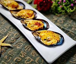 #肉食者联盟#沙拉酱焗烤青口贝的做法