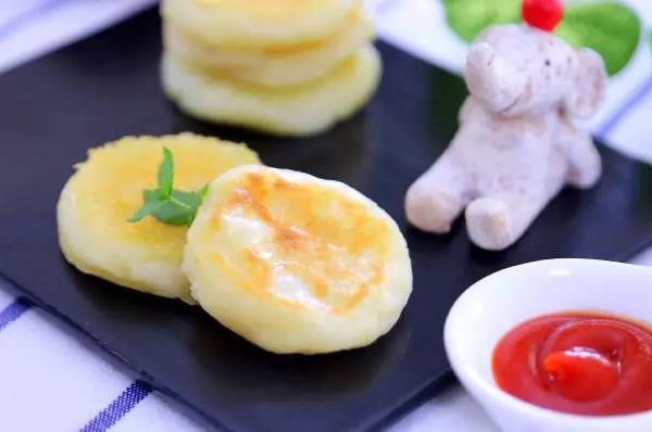 芝士包心土豆饼  宝宝辅食食谱的做法