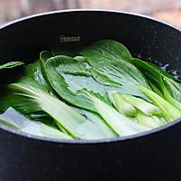 #一道菜表白豆果美食# 高颜值的香菇青菜的做法图解2