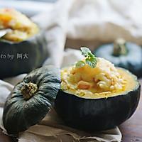 南瓜焗饭#柏翠辅食节-烘焙零食#