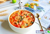 番茄鳕鱼汤面~宝宝辅食的做法