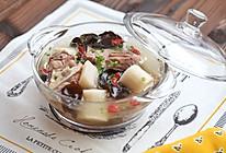 木耳山药排骨汤的做法