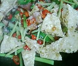 锅仔脆豆腐的做法