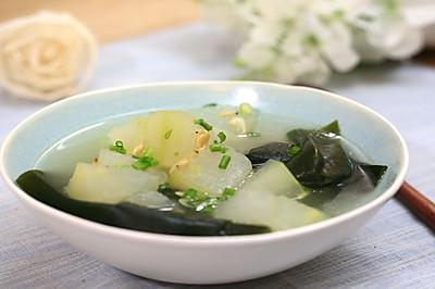冬瓜海带汤—迷迭香