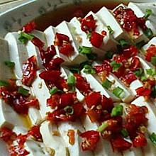 微波炉美食之——剁椒豆腐