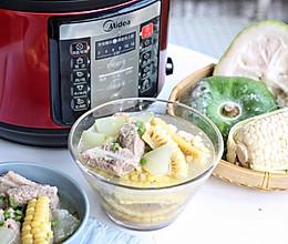 夏天最爱的冬瓜玉米排骨汤的做法