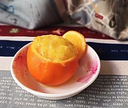盐蒸橙子-止咳妙招的做法