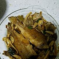 小黄鱼烧蘑菇的做法图解6