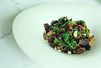 #一道菜表白豆果美食#超级营养瘦身餐:翡翠杏仁菠菜的做法