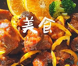 最新鲜的橙香排骨的做法