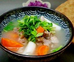 汤汤水水【铁杆山药清炖羊肉】的做法