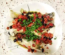 剁椒豆豉蒸鱼块的做法