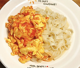 西红柿鸡蛋手擀面的做法
