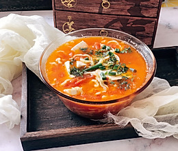 #做道懒人菜,轻松享假期#番茄鸡蛋面的做法
