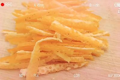儿时的零食_香甜红薯干