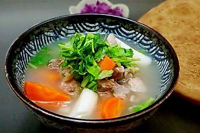 汤汤水水【铁杆山药清炖羊肉】