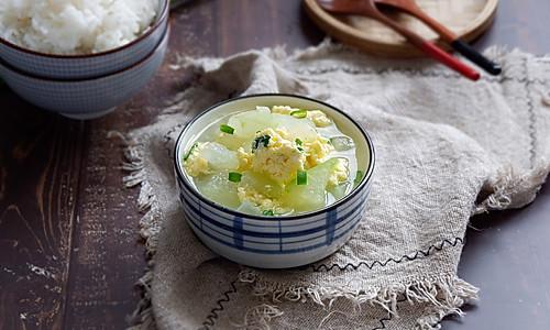 冬瓜鸡蛋汤的做法
