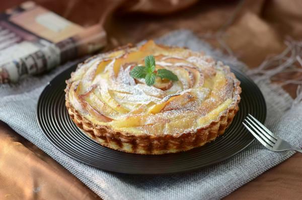 #2018我学会的一道菜#飞饼版苹果乳酪挞的做法