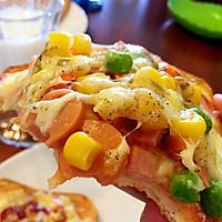 早餐吐司披萨(超简单)的做法图解9