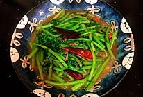 #中秋宴,名厨味#黄豆酱炒茼蒿的做法