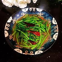 #中秋宴,名厨味#黄豆酱炒茼蒿