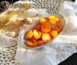 清痰小食:冰糖金桔的做法