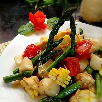 素食之——马蹄炒芦笋