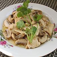 上海年夜饭必备蘑菇鸡片的做法图解10