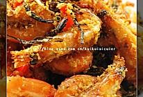 避风塘茶香虾的做法