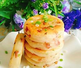 山药香肠葱花饼的做法