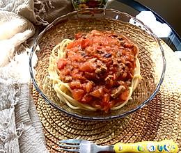 必胜客肉酱面家庭版~意大利肉酱面#餐桌上的春日限定#的做法
