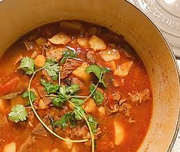 番茄土豆牛腩的做法