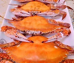 清蒸梭子蟹的做法