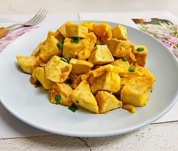 #我们约饭吧#豆腐炒鸡蛋的做法