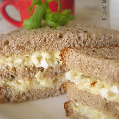 土豆苹果沙拉三明治