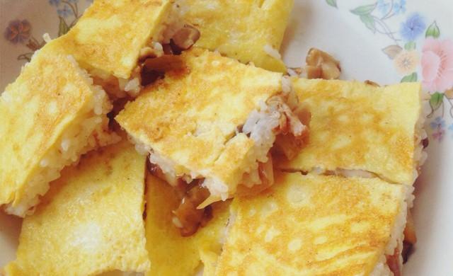 电饼档小锅豆皮(简易米饭版)