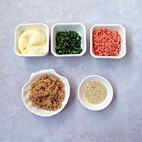 香葱肉松蛋糕卷#烘焙梦想家(华东)#的做法图解2