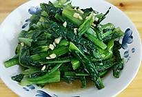 清炒油麦菜的做法