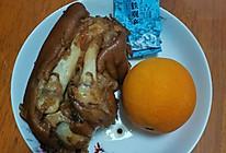 绿茶橙皮卤猪蹄的做法