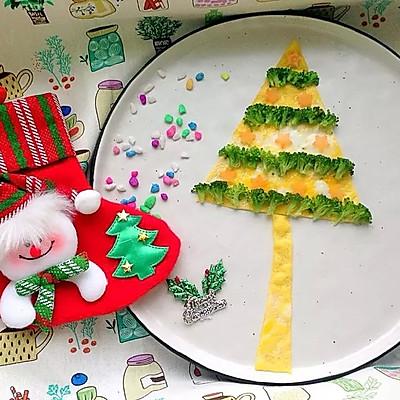鸡蛋皮圣诞树