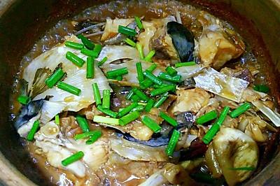 砂锅焗鱼头