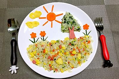 儿童创意早餐