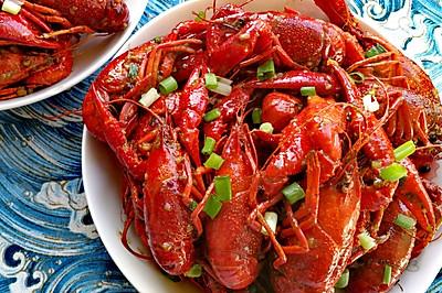夏日必备~蒜香小龙虾 (附:3秒快速剥出完整小龙虾肉的方法)