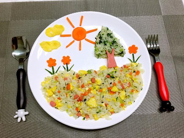 儿童创意早餐的做法