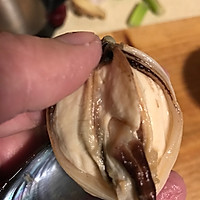 双椒蒜茸粉丝蒸青口的做法图解2