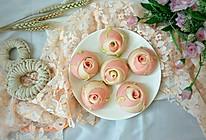 #憋在家里吃什么#情人节礼物~玫瑰花馒头的做法