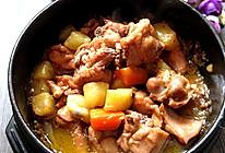 大喜大牛肉粉试用之:土豆烧鸡块的做法