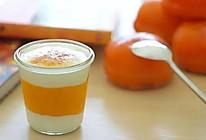 饭合   冻柿子奶昔的做法